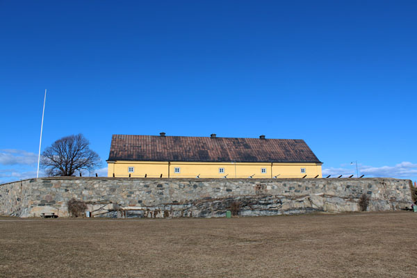A Look At The Historic Bastion Kungshall On Stumholmen In Karlskrona