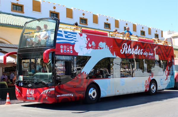 Excursion To Rhodes City Center In Greece