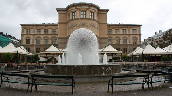 Fountain in Stockholm