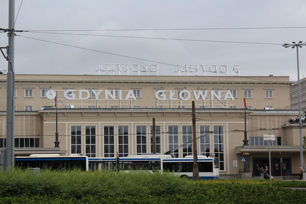 Gdynia Train Station
