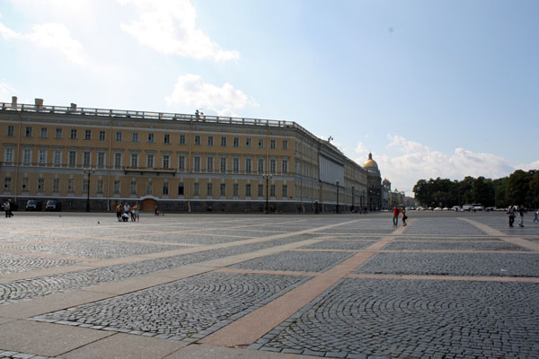 The General Staff building in St. Petersburg