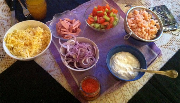 Langos Toppings
