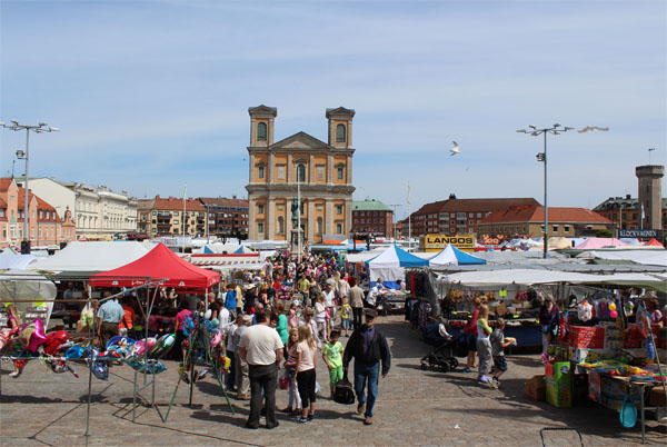 My Visit To The Traditional Leaf Market In Karlskrona 2012