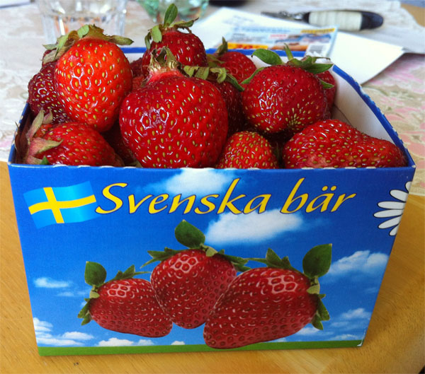 My Swedish Strawberry Premiere