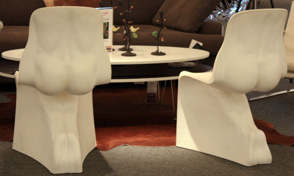 Odd Shaped Chairs