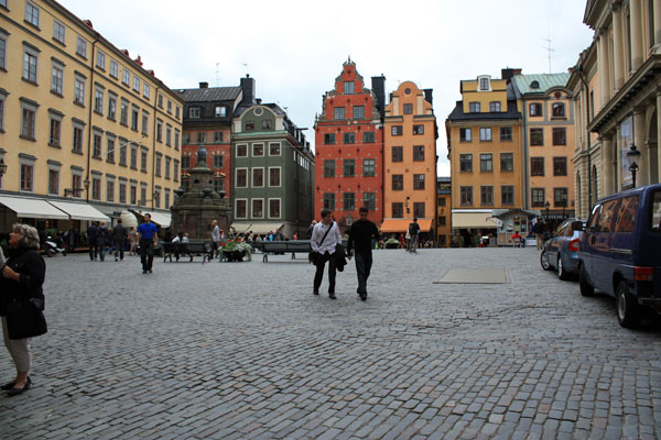Old Town Main Square in Stockholm