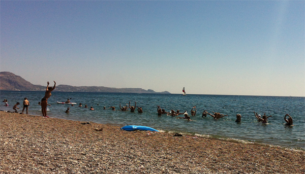 Photos Of The Beach In Kiotari, Greece