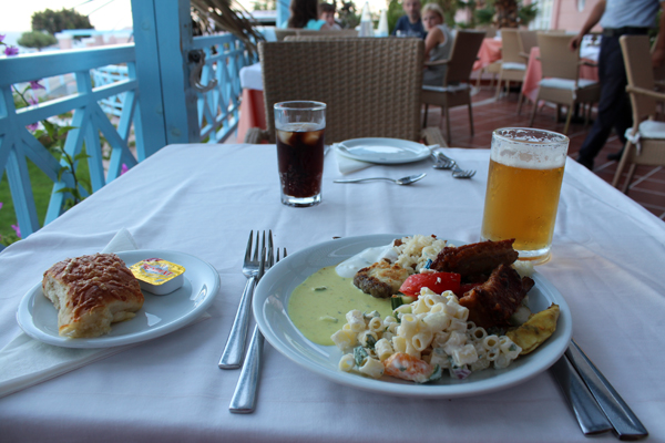 Rodos Village Beach Mitsis Hotel In Kiotari Food
