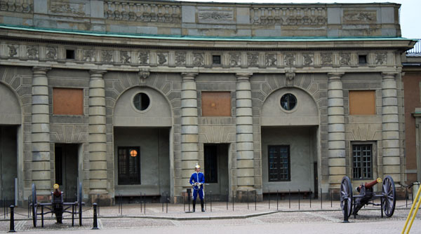 The Royal Palace in Stockholm Guard