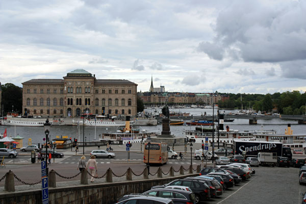 The Royal Palace in Stockholm View