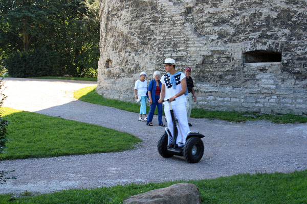 Segway in Tallin, Estonia