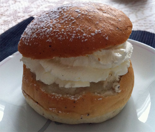 A Swedish Lenten Bun