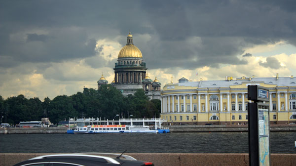 St. Petersburg in Russia