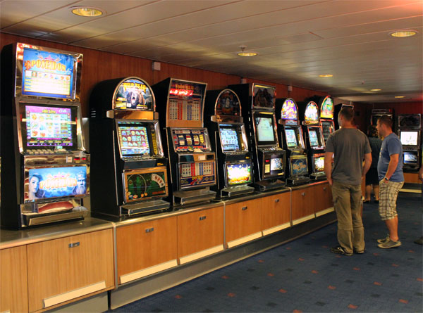 Stena Line Vision Slot Machines