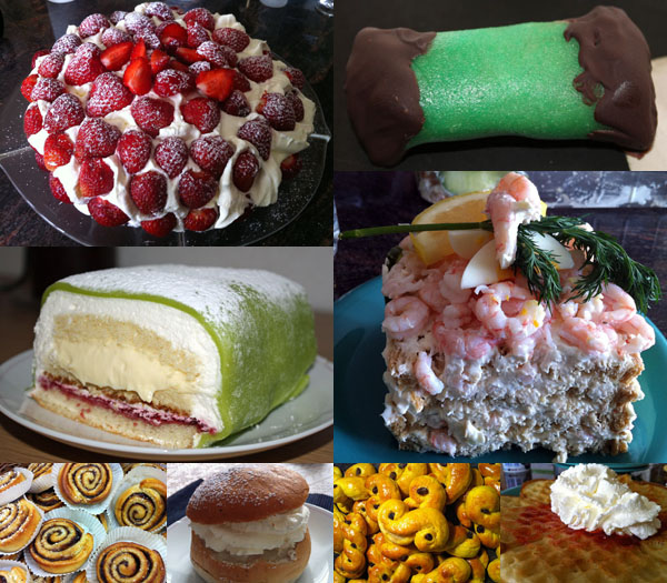 Swedish Cakes And Pastries
