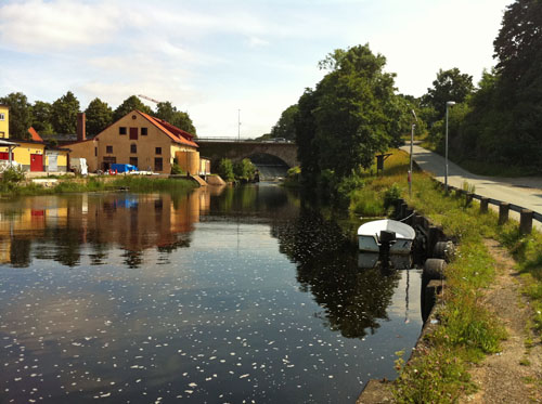 The crown mill in Lyckeby, Sweden