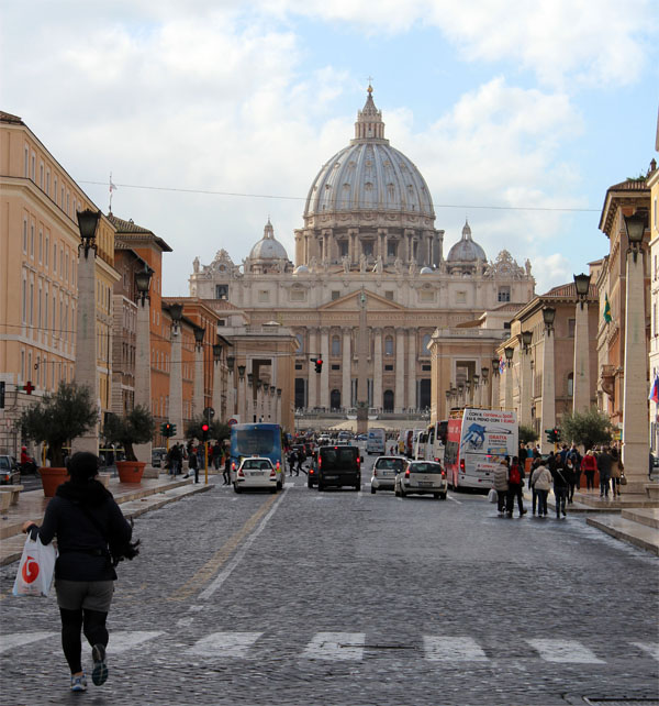 The Stunning St. Peter's Basilica In Rome
