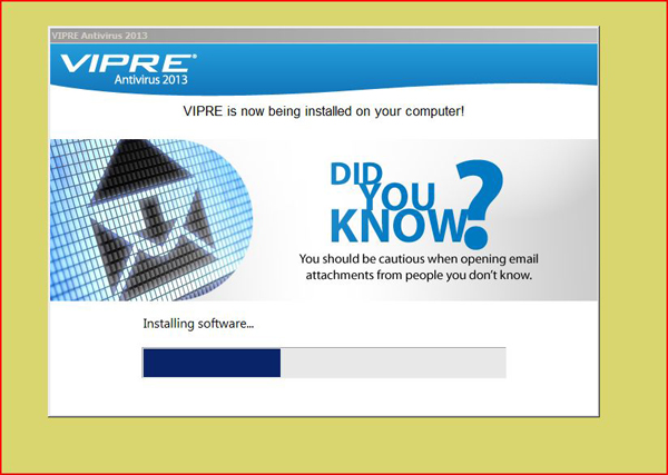 VIPRE, A Well Performing Antivirus Software