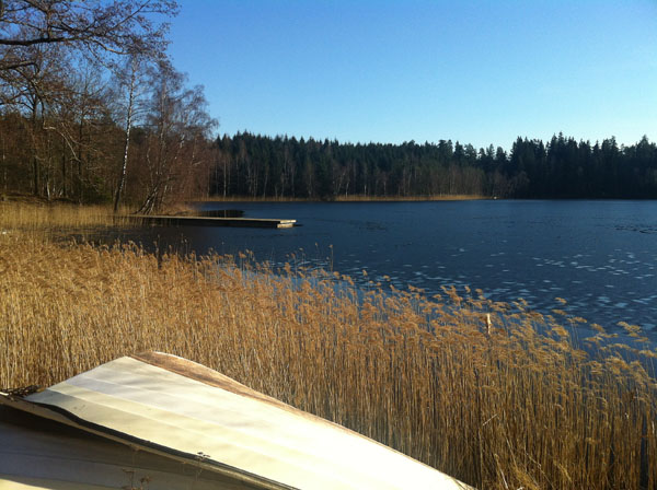 A Melting Lake On The Road To Karlshamn - Galtsjon