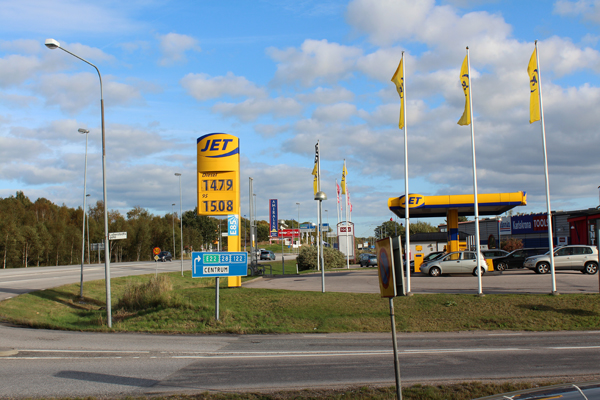 Update On Current Food And Gas Prices In Sweden